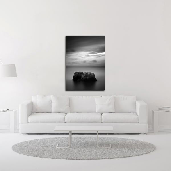 Rock One by Design Fabrikken Wrapped Canvas Wall Art
