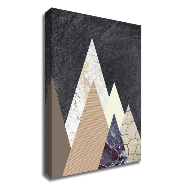 Peaks 2 by Design Fabrikken Wrapped Canvas Wall Art