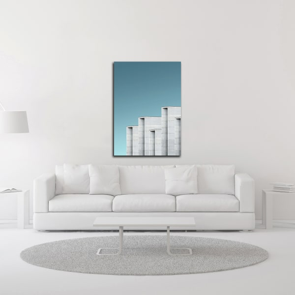 Architecture 2 by Design Fabrikken Wrapped Canvas Wall Art