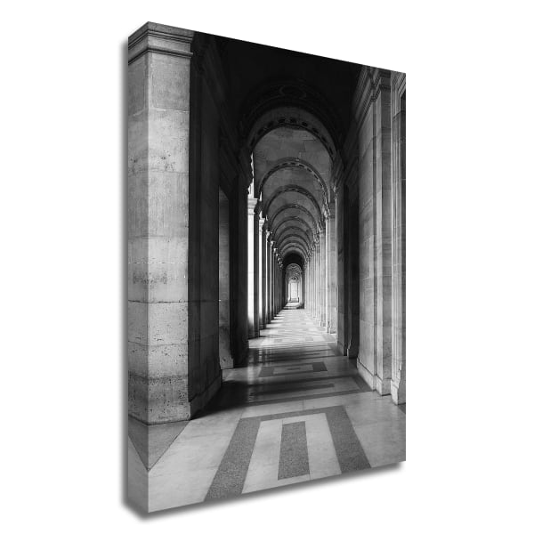 Architecture 5 by Design Fabrikken Wrapped Canvas Wall Art