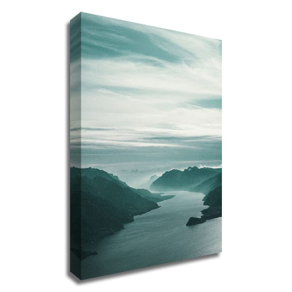 Bishop 12 by Design Fabrikken Wrapped Canvas Wall Art