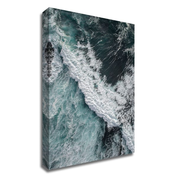 From Above 9 by Design Fabrikken Wrapped Canvas Wall Art