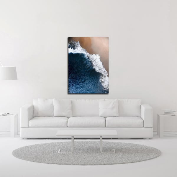 From Above 8 by Design Fabrikken Wrapped Canvas Wall Art