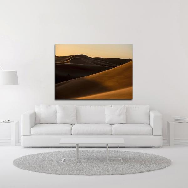 Desert 2 by Design Fabrikken Wrapped Canvas Wall Art