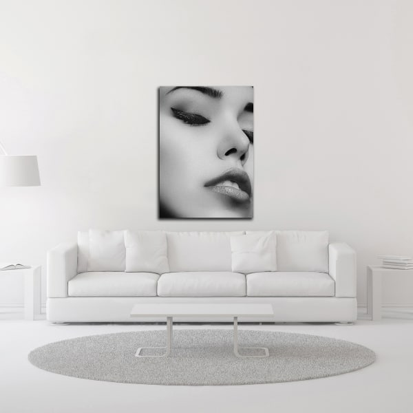 Face 1 by Design Fabrikken Wrapped Canvas Wall Art