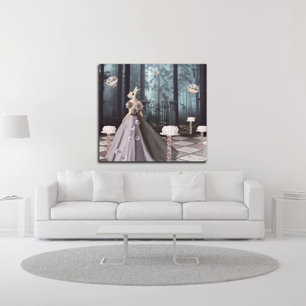 Cake Forest by Daniela Nocito Wrapped Canvas Wall Art