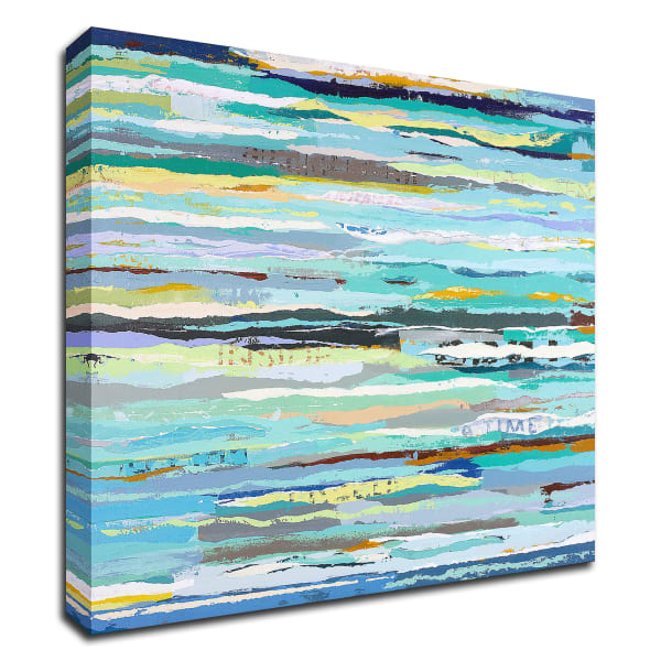 Message in a Bottle by Adam Collier Noel Wrapped Canvas Wall Art