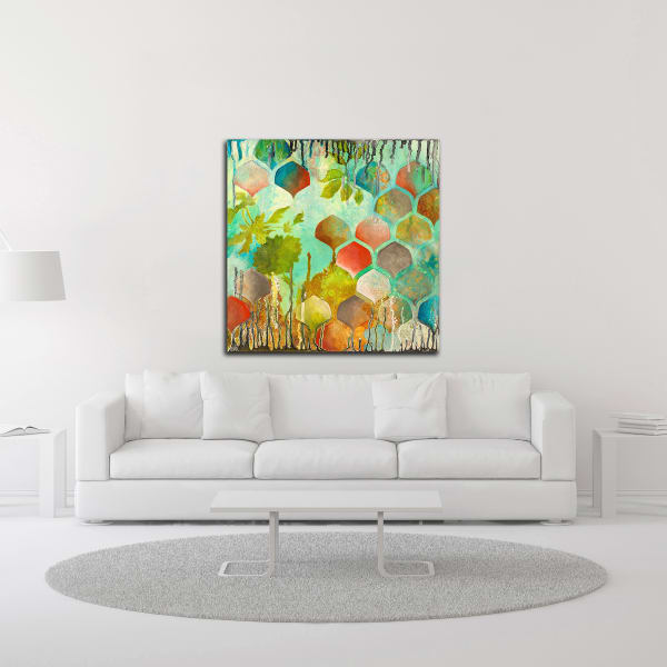 Sprightly by Heather Noel Robinson Wrapped Canvas Wall Art