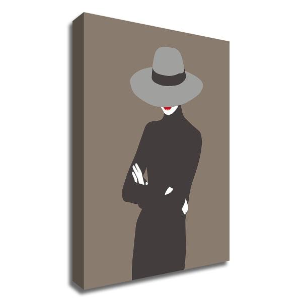 Lady No. 4 by Sean Salvadori Wrapped Canvas Wall Art