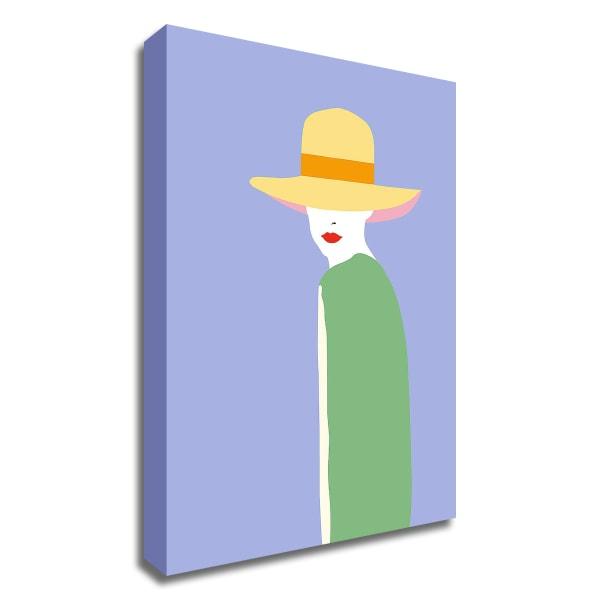 Lady No. 6 by Sean Salvadori Wrapped Canvas Wall Art