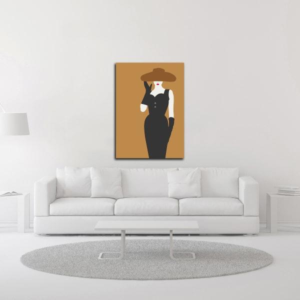 Lady No. 16 by Sean Salvadori Wrapped Canvas Wall Art