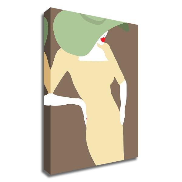 Lady No. 19 by Sean Salvadori Wrapped Canvas Wall Art