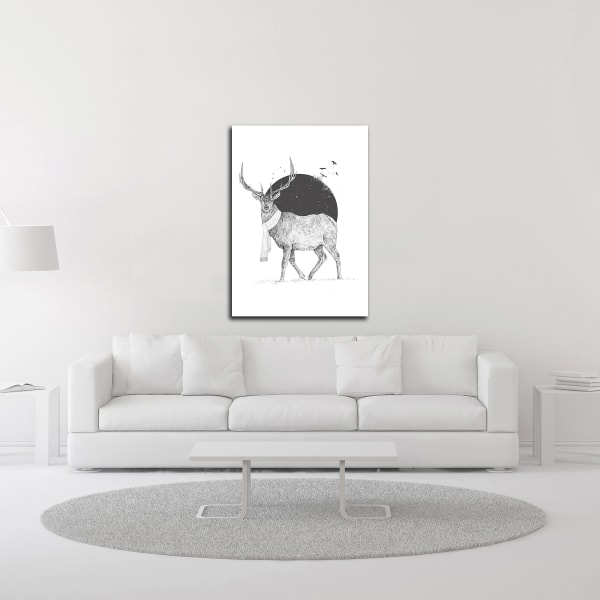 Winter Is All Around by Balazs Solti Wrapped Canvas Wall Art