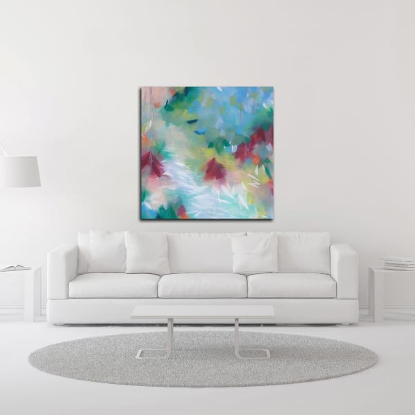 Love is Grand No. 1 by Elisa Sheehan Wrapped Canvas Wall Art