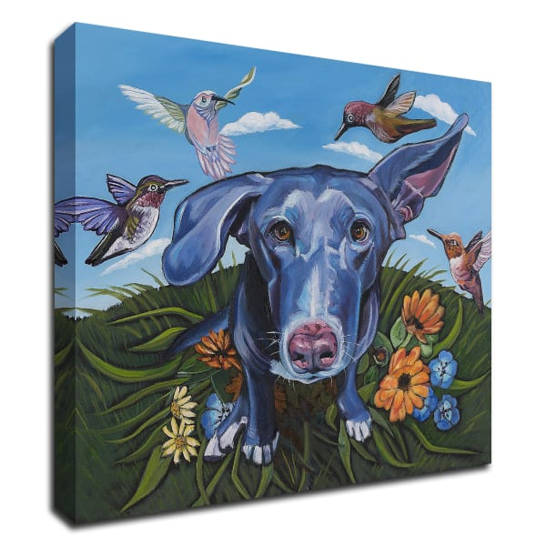 Babs n' Birds by Kathryn Wronski Wrapped Canvas Wall Art
