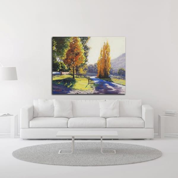 Autumn Light by Graham Gercken Wrapped Canvas Wall Art