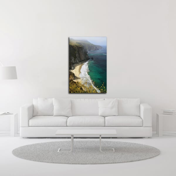 Big Sur Coast by Winthrope Hiers Wrapped Canvas Wall Art