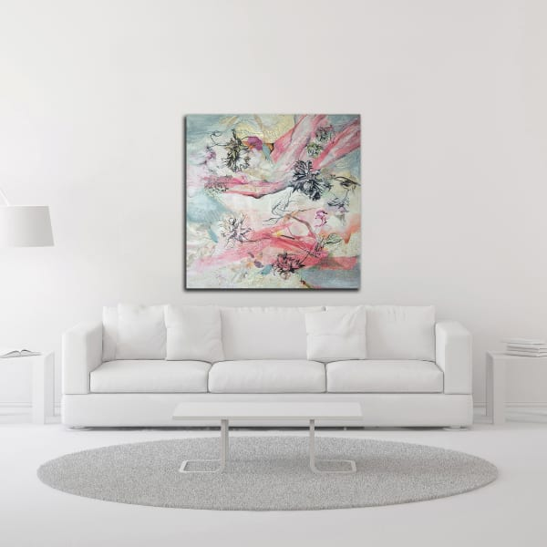 And the Birds Are Singing by Julia Hacker Wrapped Canvas Wall Art