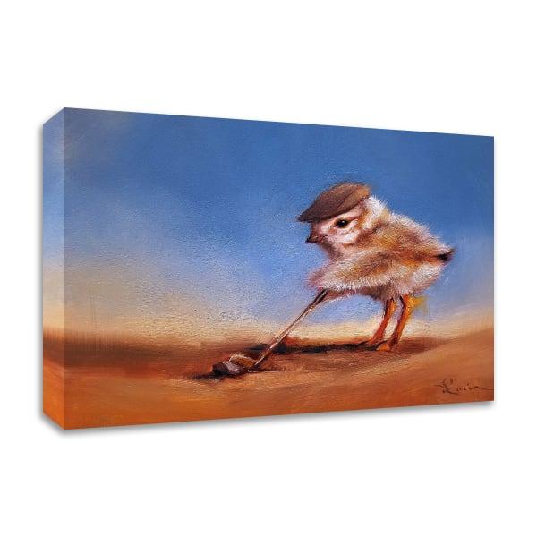 Birdie Shot by Lucia Heffernan Wrapped Canvas Wall Art