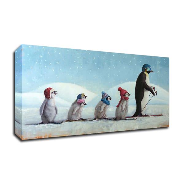 Ski School by Lucia Heffernan Wrapped Canvas Wall Art