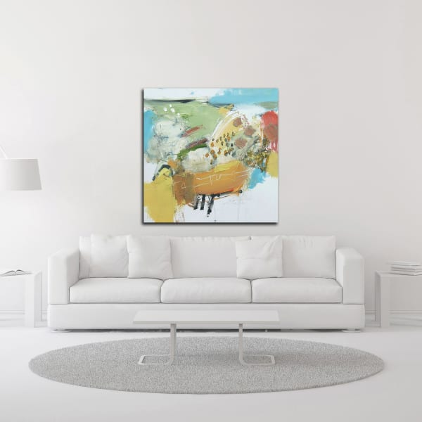 Light as a Cloud by Andrew Kinmont Wrapped Canvas Wall Art