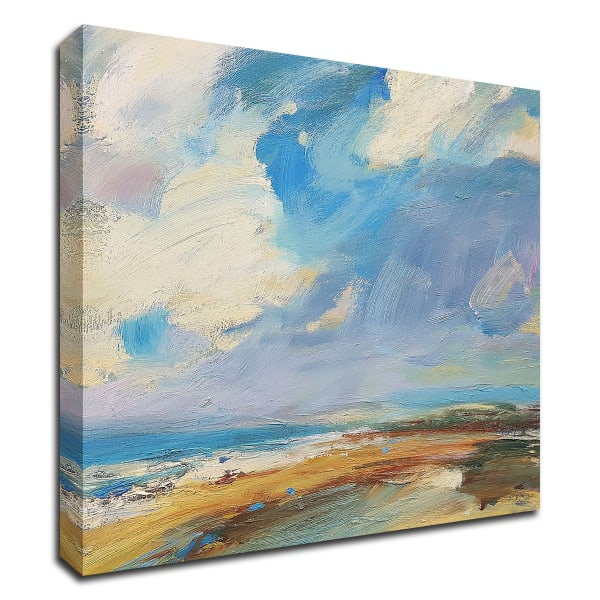 Ochre Sand West Coast by Andrew Kinmont Wrapped Canvas Wall Art