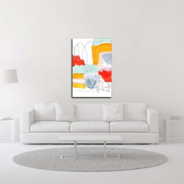 Abstract Painting XVI by Iris Lehnhardt Wrapped Canvas Wall Art