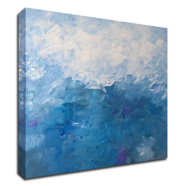 Water Lily by KR Moehr Wrapped Canvas Wall Art