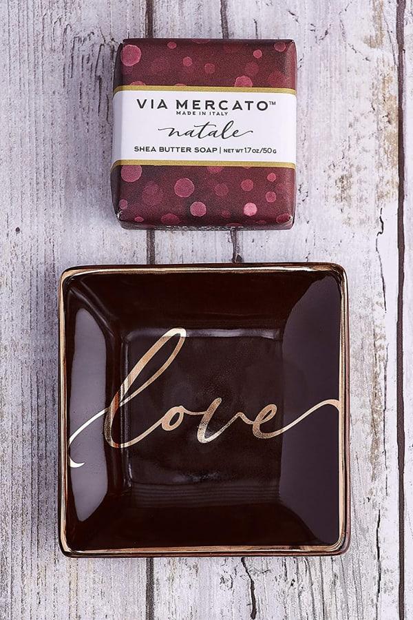 Love Soap & Trinket Set