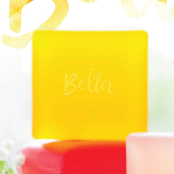 Via Mercato Bella 100g Loquat, Peach & Mandarin Glycerin Soap