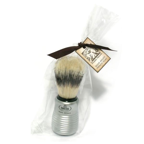 Men's Shaving Brush With Aluminum Handle