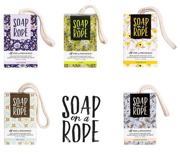 Sea Salt On A Rope Soap