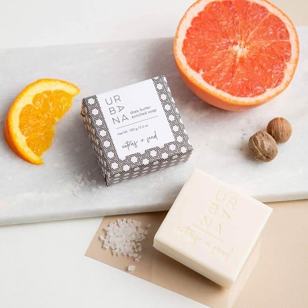 Citrus + Seed Soap Bar