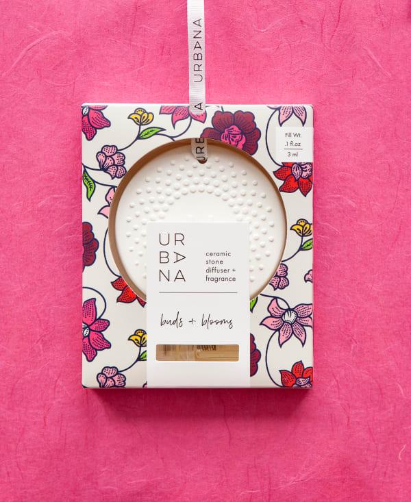 Buds + Blooms Ceramic Stone Diffuser