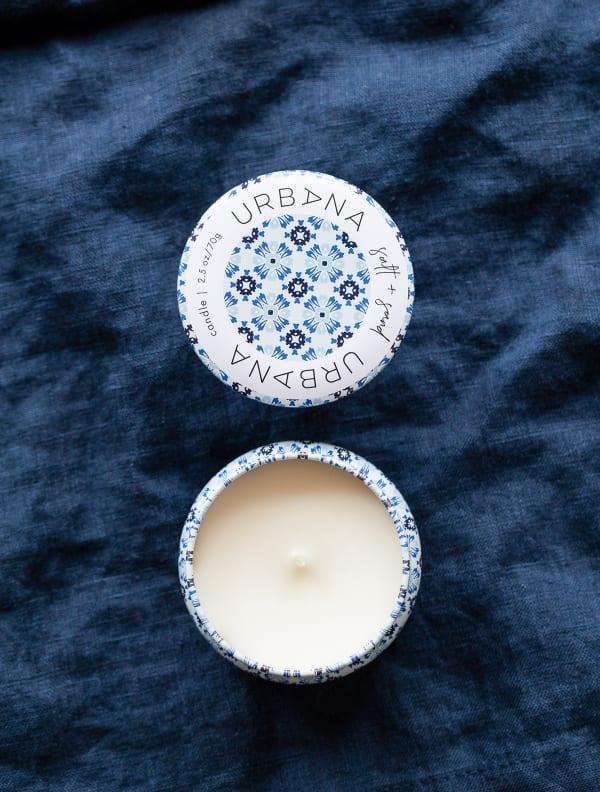 Mini Salt And Sand Candle