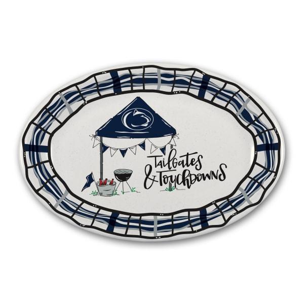 Penn State Tailgates and Touchdowns Melamine Platter