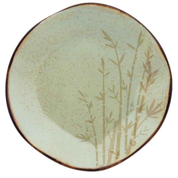 RYO 6 Piece Green Dinner Plate Set