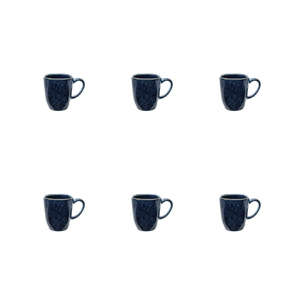 RYO Dark Blue 6 Piece Mug Set