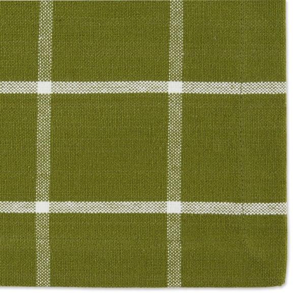 Ventana Green Check Set of 6 Placemats