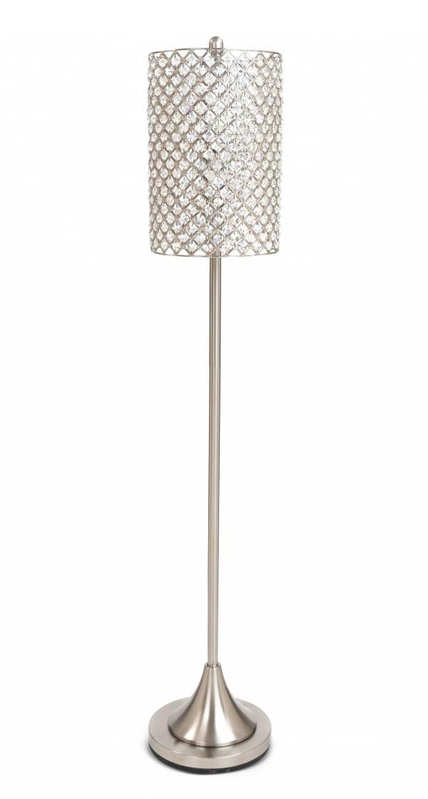 Crystal Bead Shade Floor Lamp