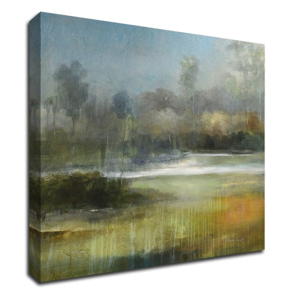 A Quiet Place by J Austin Jennings Wrapped Canvas Wall Art