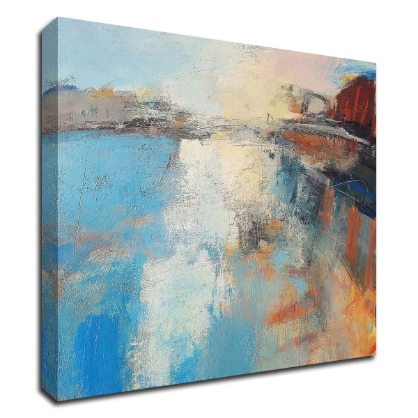 Harbour Light by Andrew Kinmont Wrapped Canvas Wall Art