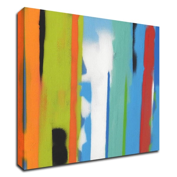 Urban Summer 23 by Gill Miller Wrapped Canvas Wall Art
