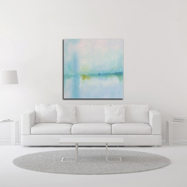Misted Shores by KR Moehr Wrapped Canvas Wall Art