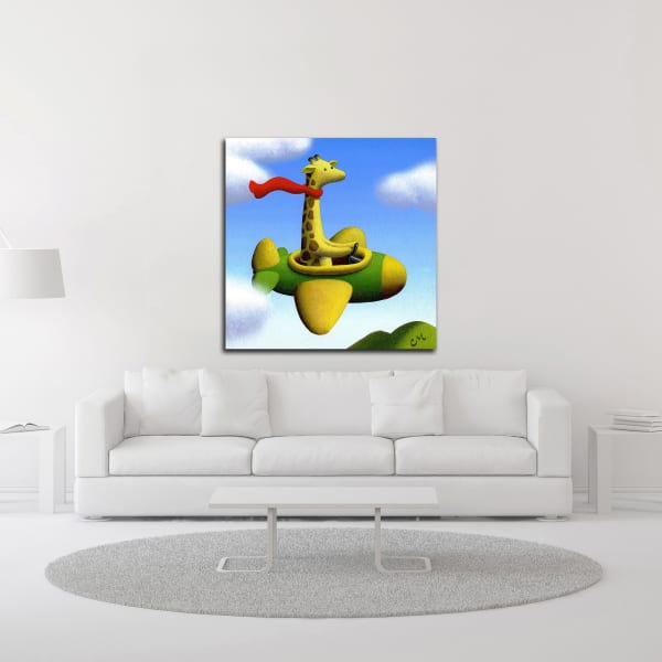 Frequent Flier No. 2 by Chris Miles Wrapped Canvas Wall Art