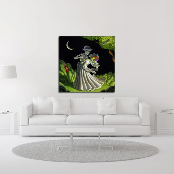 Eternal Love by Chris Miles Wrapped Canvas Wall Art