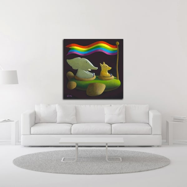 Freedom by Chris Miles Wrapped Canvas Wall Art