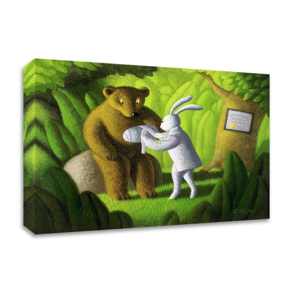 The Healer by Chris Miles Wrapped Canvas Wall Art