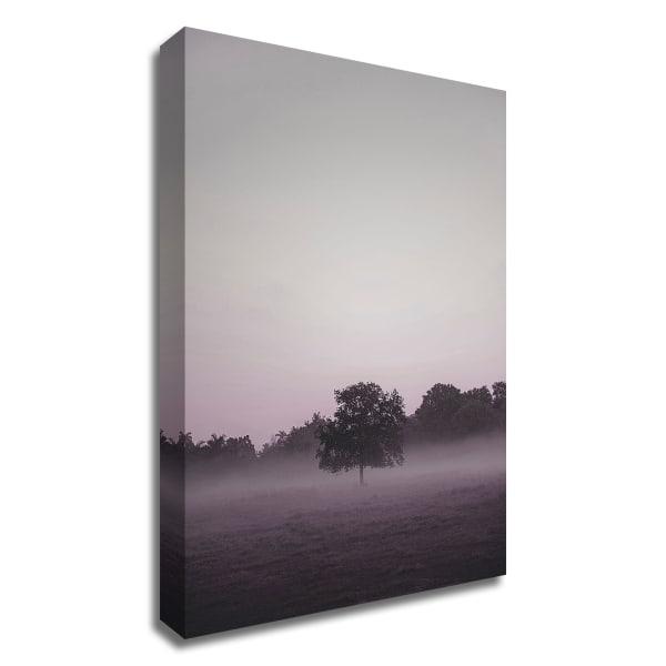 Purple Light 2 by Design Fabrikken Wrapped Canvas Wall Art