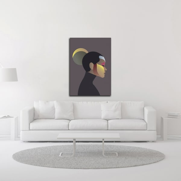 Off Chart 2 by Design Fabrikken Wrapped Canvas Wall Art